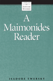 A Maimonides Reader