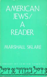 American Jews: A Reader