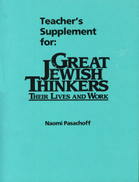 Great Jewish Thinkers - Teaching Guide