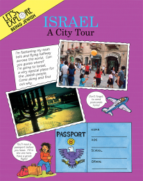 Let's Explore Being Jewish: Israel A City Tour