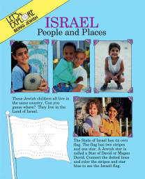 Let's Explore Being Jewish: Israel People & Places