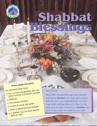 For the Family: Shabbat Blessings - Set of 10 Folders