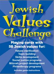 Jewish Values Challenge Cards