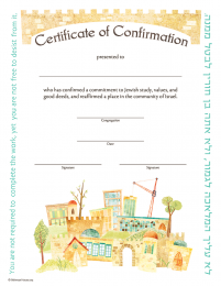 Certificate of Confirmation BH