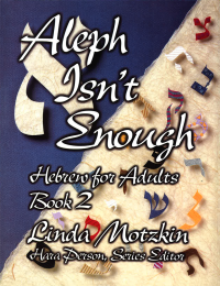 Aleph Isn't Enough: Hebrew for Adults Book 2