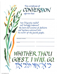 Certificate of Conversion