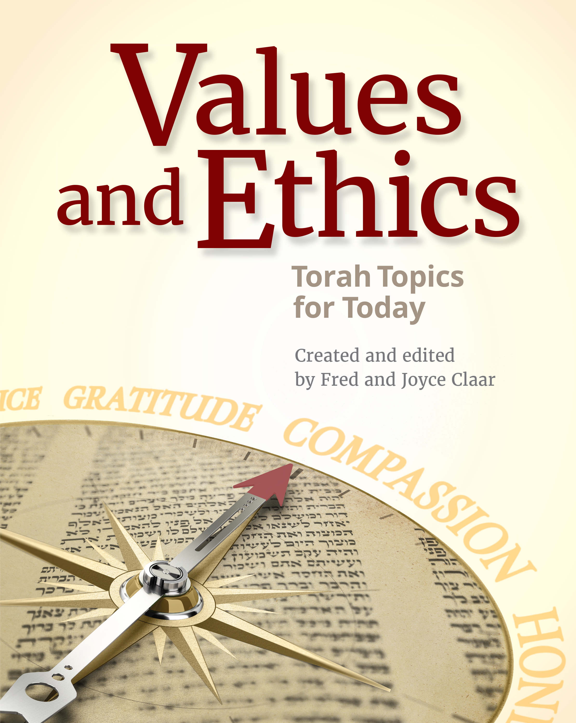 "Start a Conversation About The Weekly Torah Portion With the New ""Values and Ethics"""