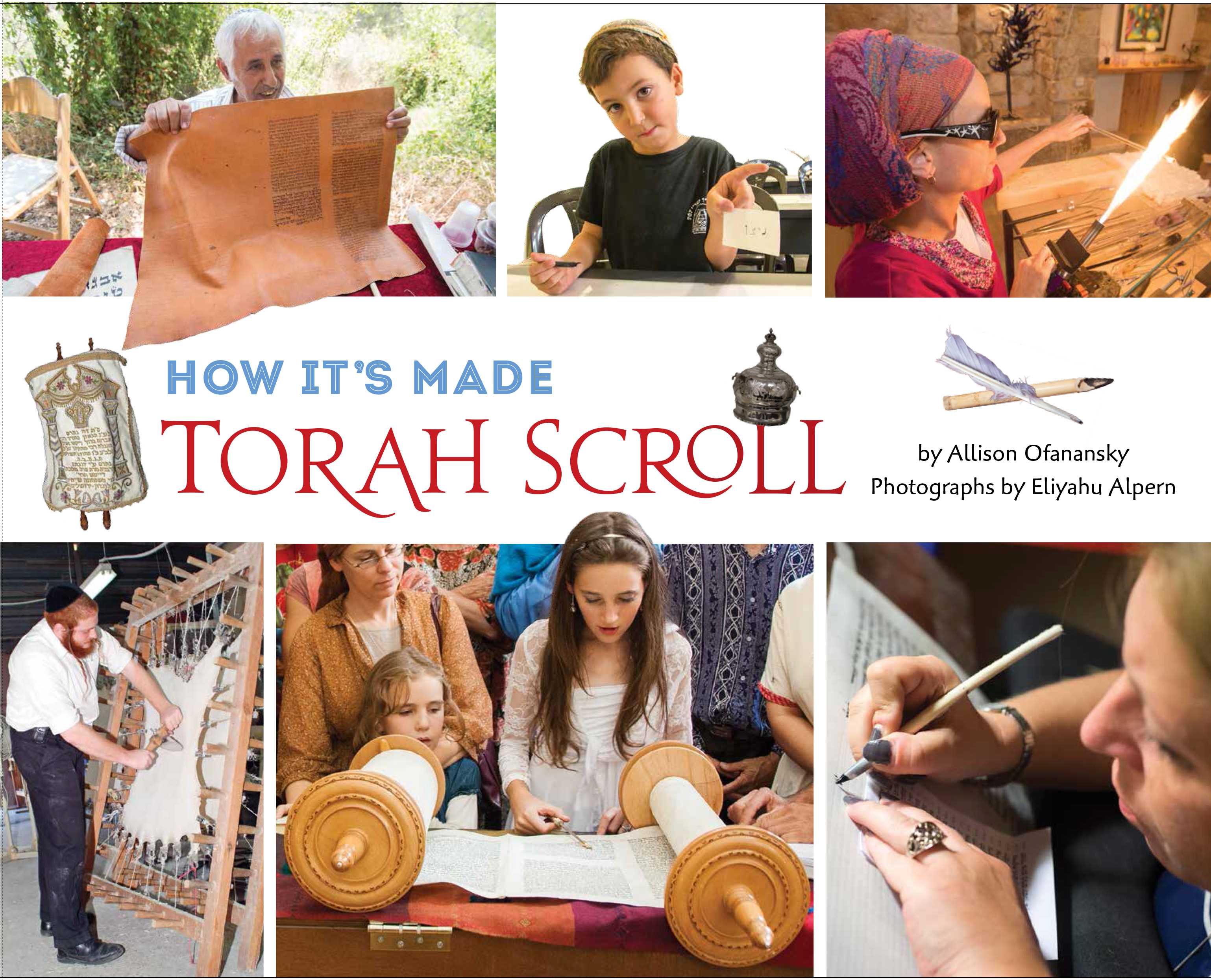 Simchat Torah Time: Show Students How It's Made