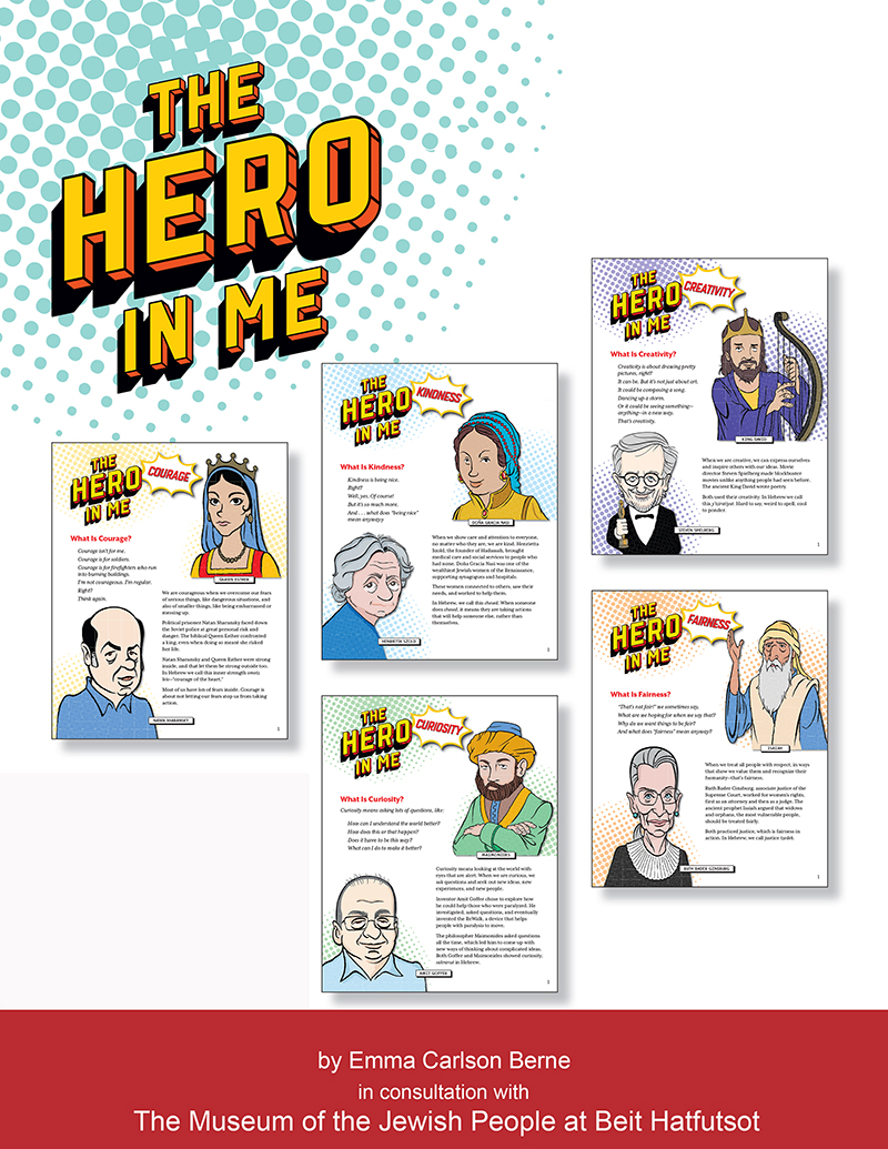 """The Hero in Me"": New Series of Biographies Explore Character Traits"