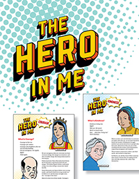 Biographies of Heroes Help Explore Values and Character Traits