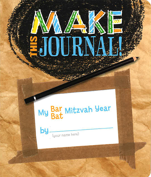How One Educator Uses Make This Journal to Prompt Creativity and Stress Relief with Bar/Bat Mitzvah Students