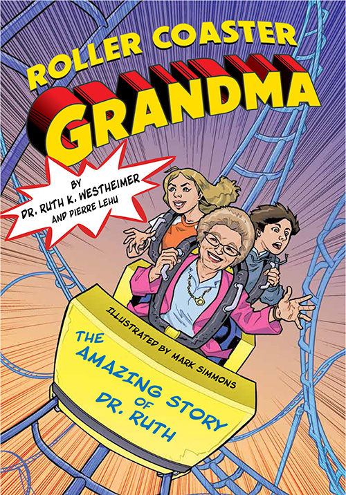 The Graphic Designer Behind Dr. Ruth's New Graphic Novel: Q & A with Illustrator Mark Simmons