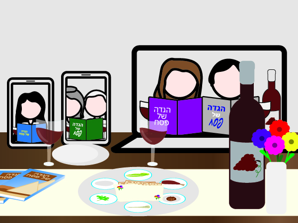 Tips for Engaging Remote Seder Participants
